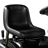 Traktoriukas Texas XC160-108H - Patogi sėdynė
