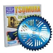 Diskas žolės TSUMURA 255mm 25.4mm 40T