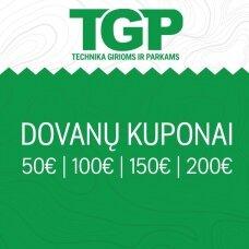 Dovanų kuponai TGP