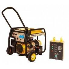 Generatorius benzininis STAGER FD 10000E su ATS 380V