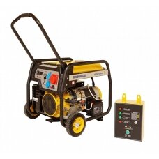 Generatorius benzininis STAGER FD 10000E3 su ATS 380V