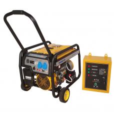 Generatorius benzininis STAGER FD3600E 230V su automatika
