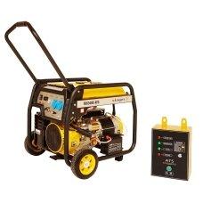 Generatorius benzininis STAGER FD6500E 230V su automatika