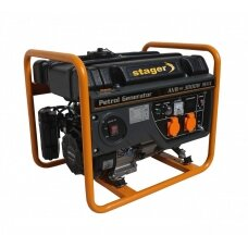 Generatorius benzininis STAGER GG 3400 230V