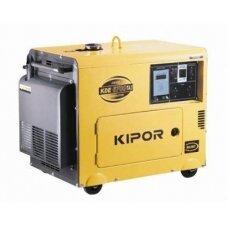 Generatorius dyzelinis KIPOR 4.4kW 3f tylus