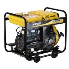Generatorius dyzelinis KIPOR 5kW 1f