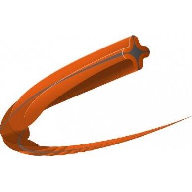Valas trimeriui 2.7 mm/210m HUSQVARNA Whisper Twist 2