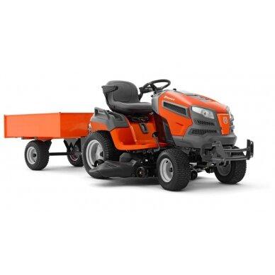 Priekaba traktoriukui Husqvarna 275 2