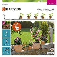 Rinkinys laistymo gėlių vazonams MDS S GARDENA